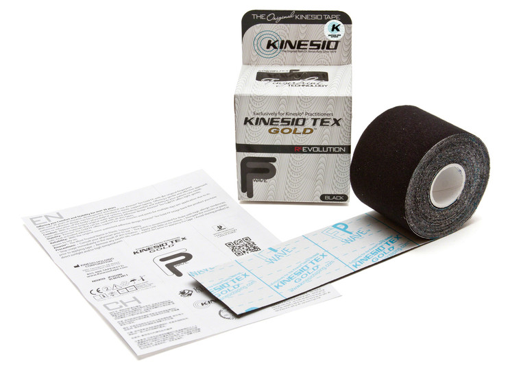 "Kinesio Tex Gold FP: 2"" Black"