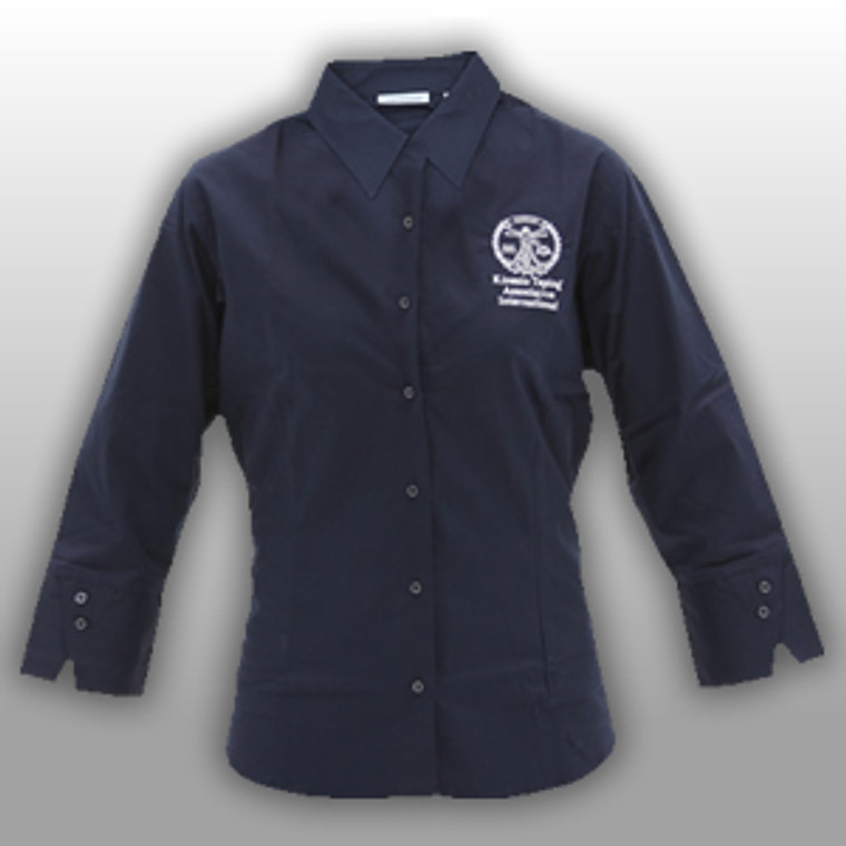 KTAI Destinations 1/3 Sleeve Button Up Shirt (Navy)