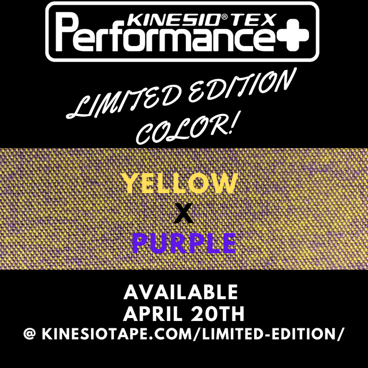 Performance+ Limited Edition Yellow/Purple