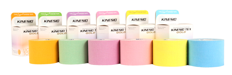 Group of Kinesio Light Touch Tapes