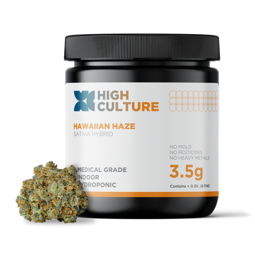 A sativa-dominant hybrid strain, you'll quickly pick up on it's fruity flavors, which are reminiscent of tropical fruits like mangoes and pineapples. It's known to have an energizing effect and best consumed during the day to avoidinterferingwith sleep. 100% Indoor Hydroponic CBD Hemp Flower No Additives, No Pesticides, Lab Tested to Ensure Quality Food-Grade Child Resistant Seal for Ultimate Preservation of Terpenes and Potency