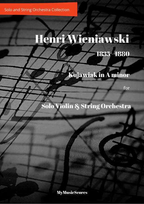 Wieniawski Kujawiak for Violin and String Orchestra Cover
