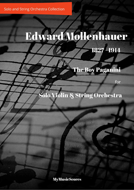 Mollenhauer The Boy Paganini for Violin and String Orchestra Cover