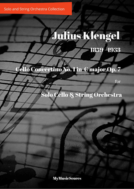 Klengel Cello Concertino No. 1 in C Major, Op. 7 for Cello and String Orchestra Cover