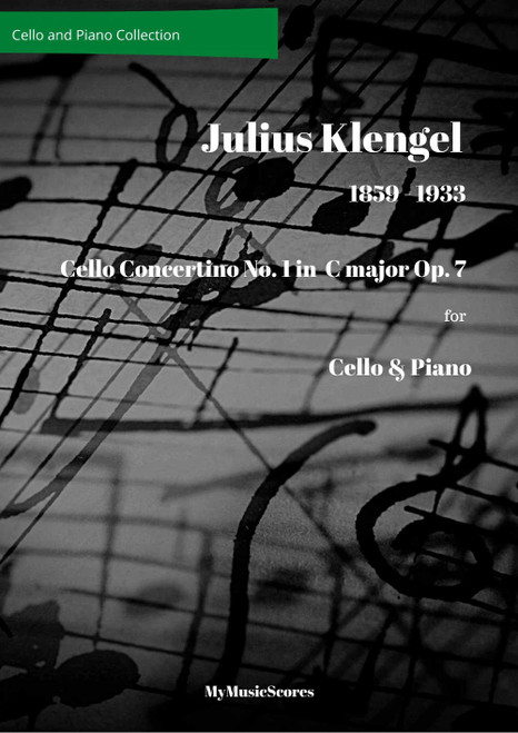 Klengel Cello Concertino No. 1 in C Major, Op. 7 Cover