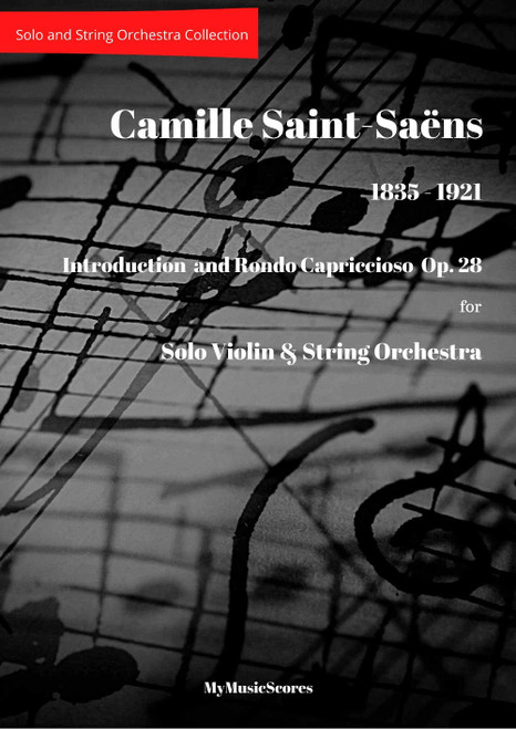 Saint-Saëns  Introduction and Rondo Capriccioso Op. 28 for Violin and String Orchestra Cover