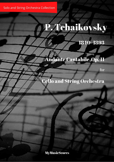 Tchaikovsky Andante Cello and String Orchestra Cover