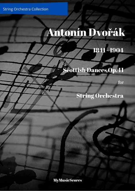 Dvorak Scottish Dances Op. 41 for String Orchestra Cover
