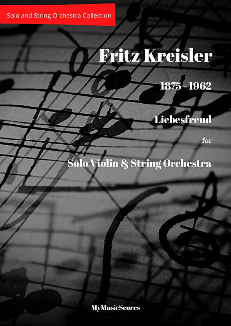 Kreisler Liebesfreud for Violin and String Orchestra Cover