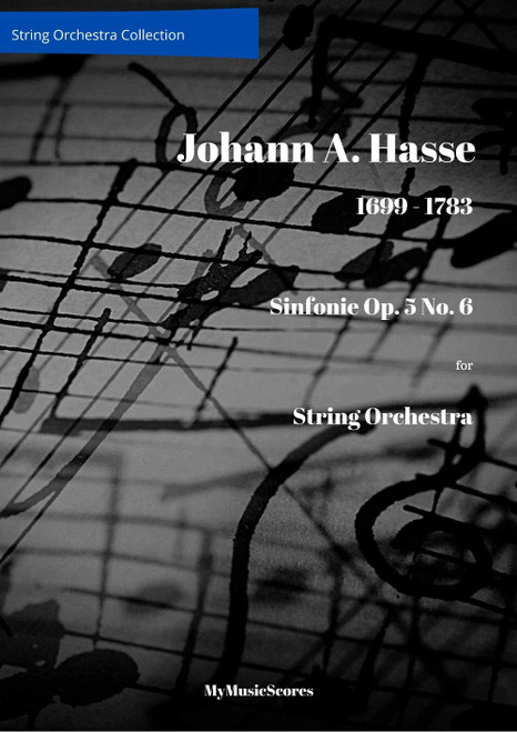 Hasse Sinfonie in G minor Op. 5 No. 6