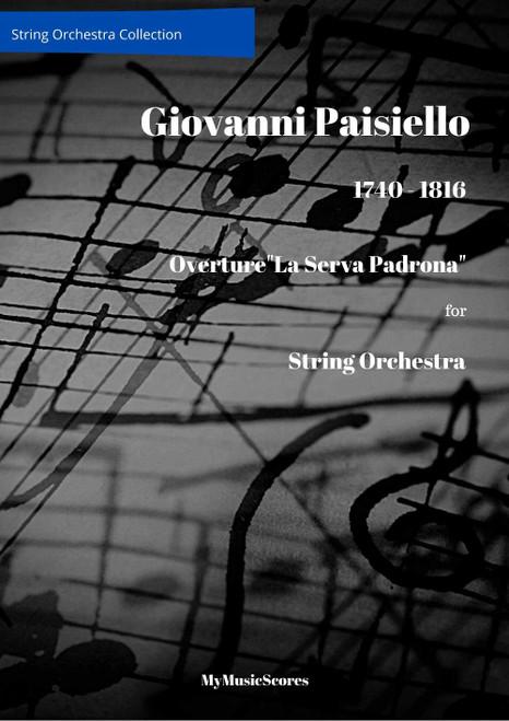 """Paisiello Overture """"La serva padrona"""" for String Orchestra Cover"""