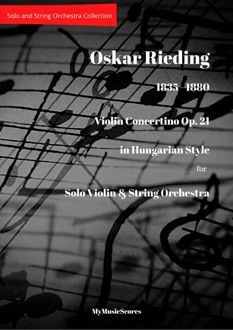 Rieding Violin Concertino Op. 21 in Hungarian Style