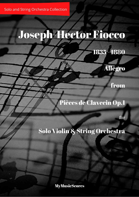 Fiocco Allegro for Violin and String Orchestra