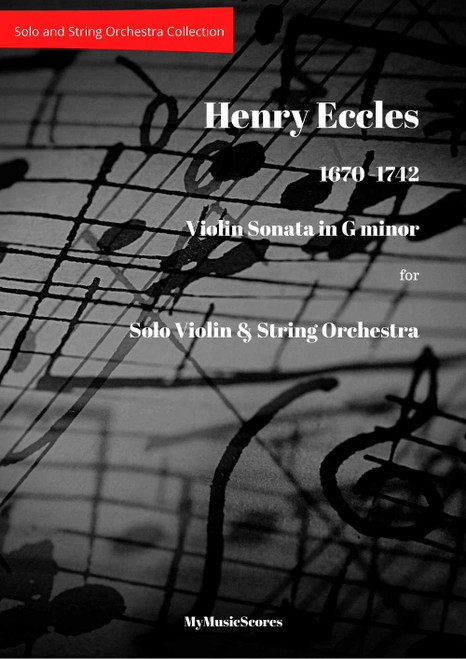Eccles  Sonata in G minor for Violin and String Orchestra
