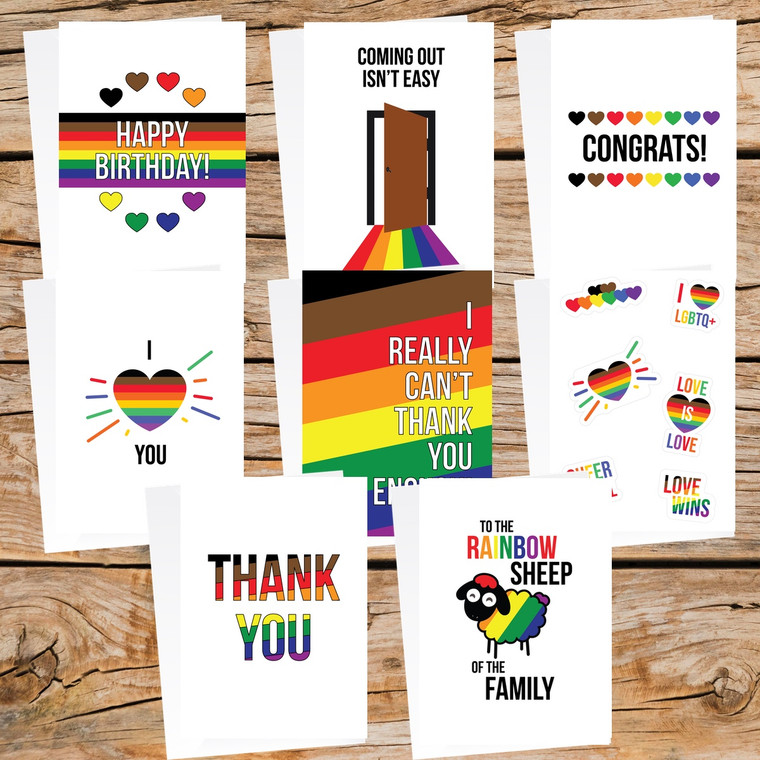 Philly Pride Pack | LGBTQ+ Greeting Cards