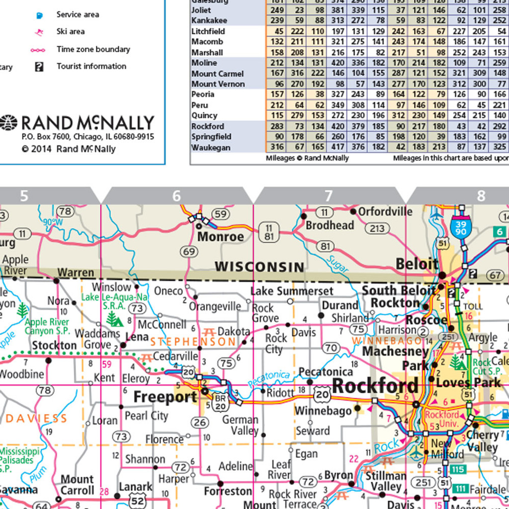 ProSeries Wall Map: Illinois State