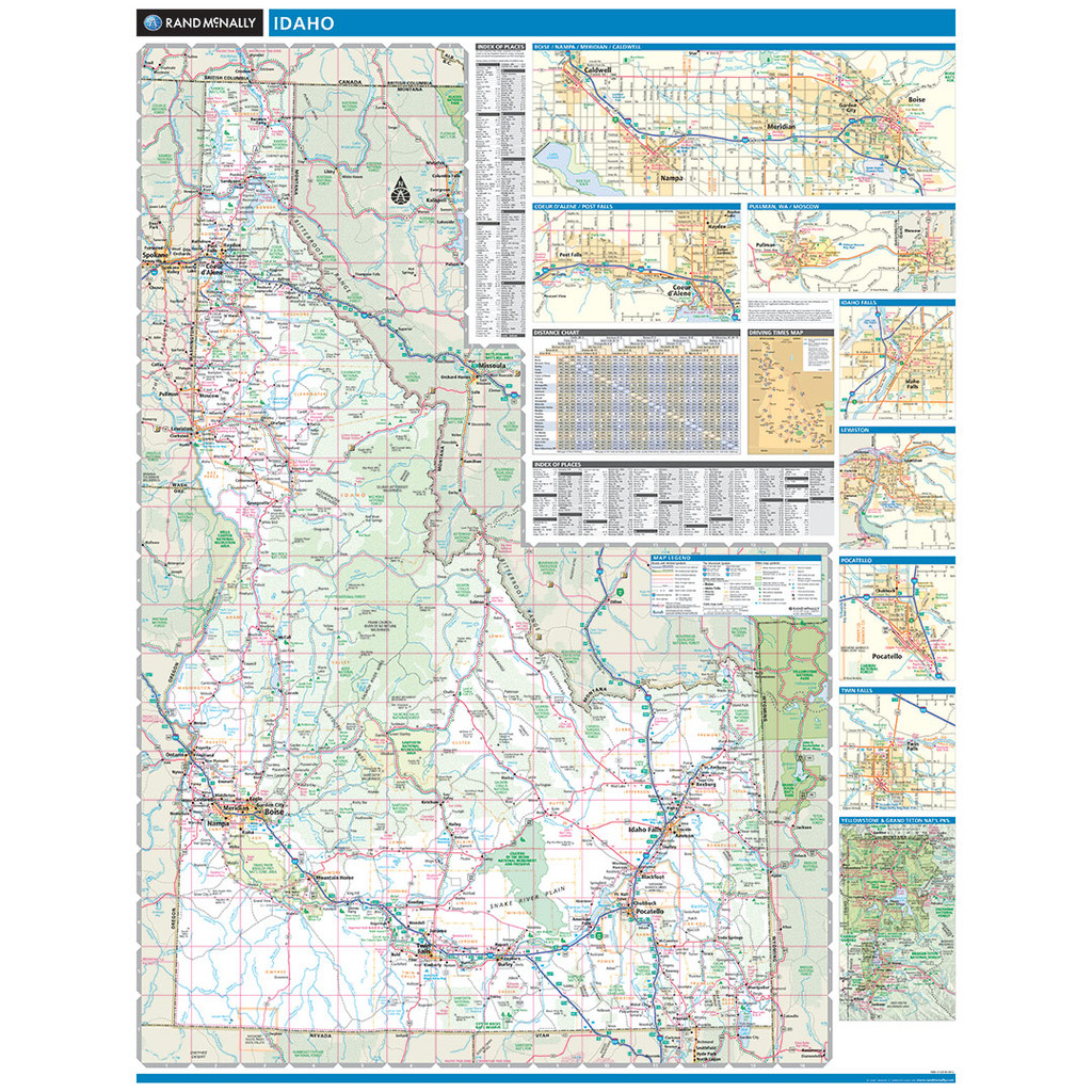 ProSeries Wall Map: Idaho State