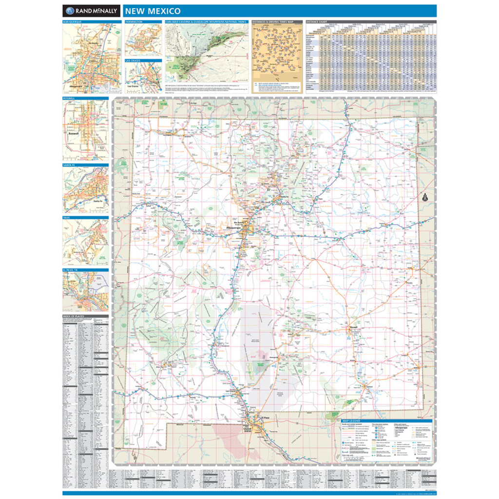 ProSeries Wall Map: New Mexico State