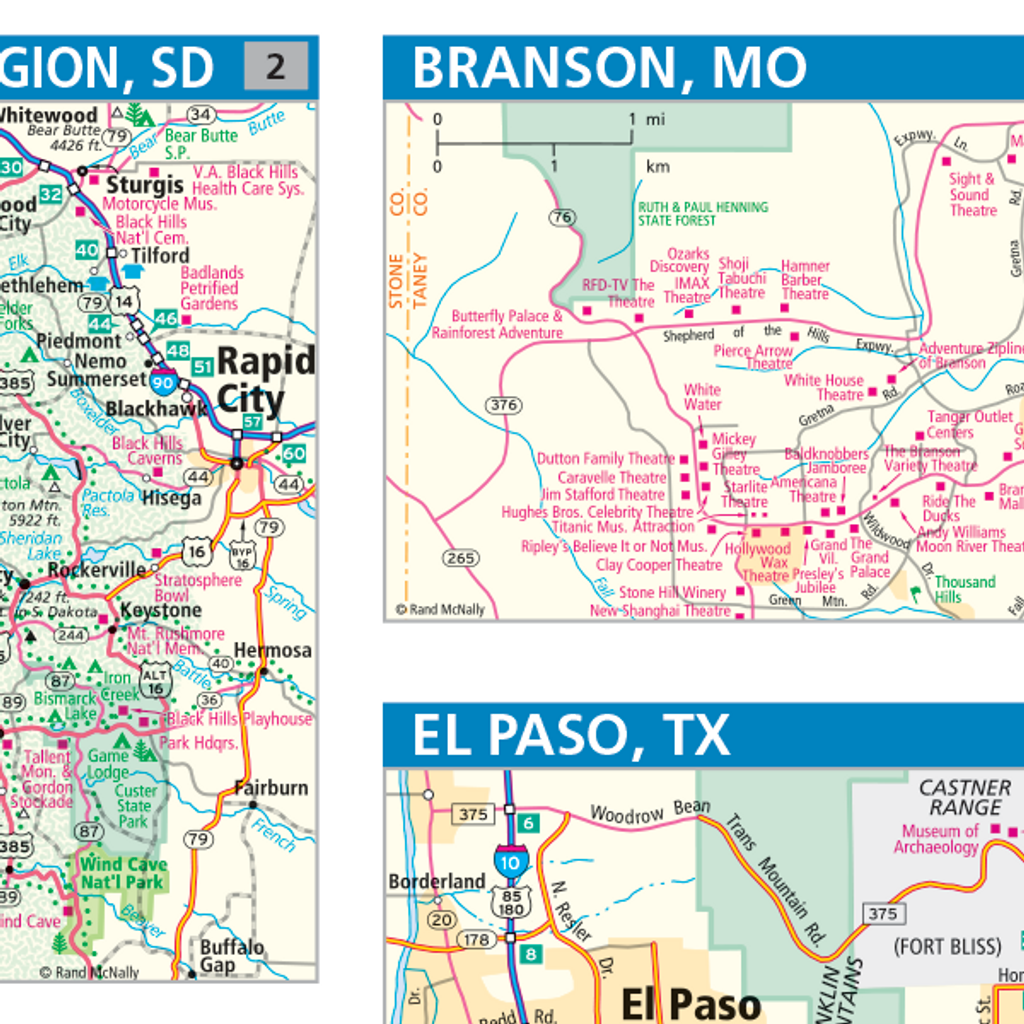 ProSeries Wall Map: Central United States