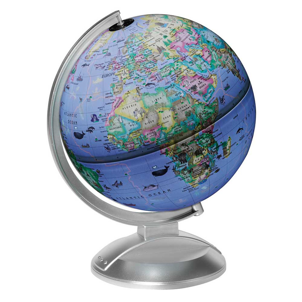 "Globe 4 Kids Illuminated 10"" Desk Globe"