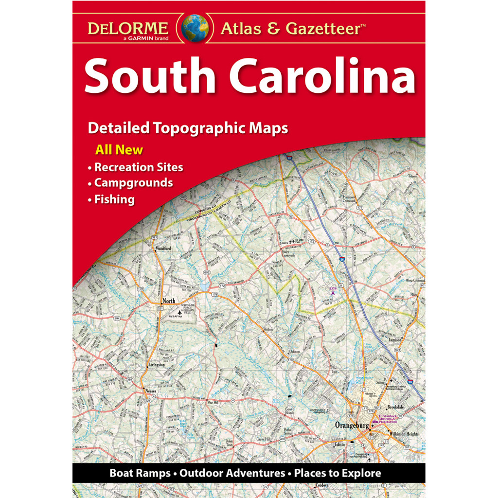 DeLorme Atlas & Gazetteer: South Carolina