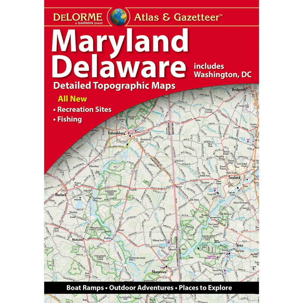 DeLorme Atlas & Gazetteer: Maryland & Delaware