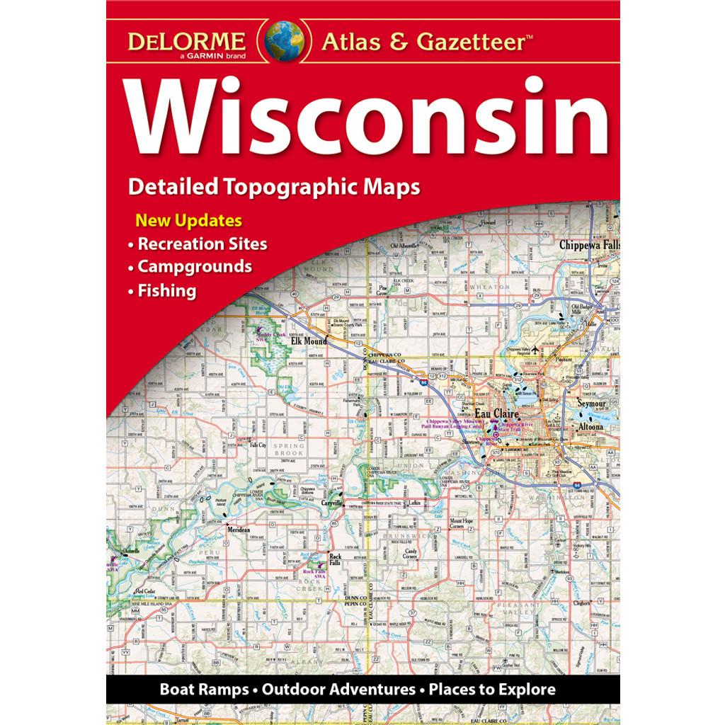 DeLorme Atlas & Gazetteer: Wisconsin