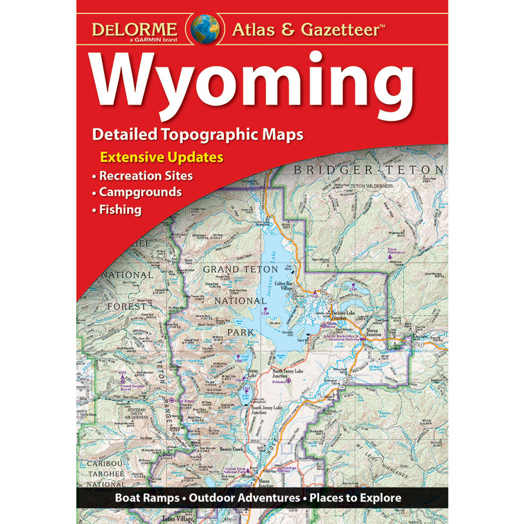 DeLorme Atlas & Gazetteer: Wyoming on