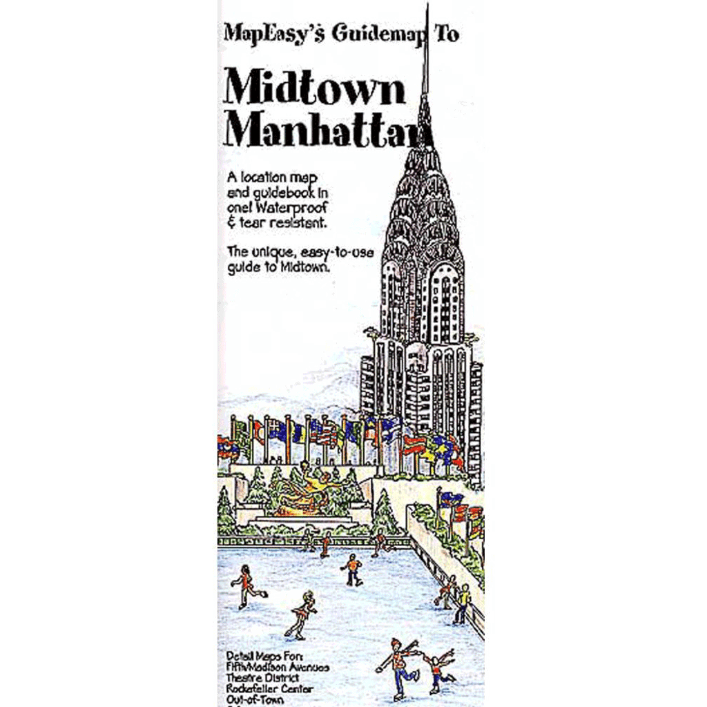 MapEasy's Guidemap: Midtown Manhattan