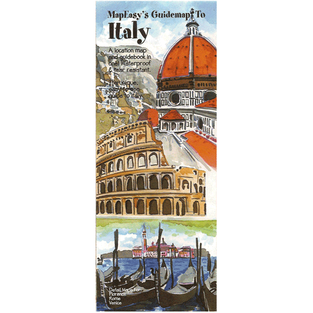 MapEasy's Guidemap: Italy