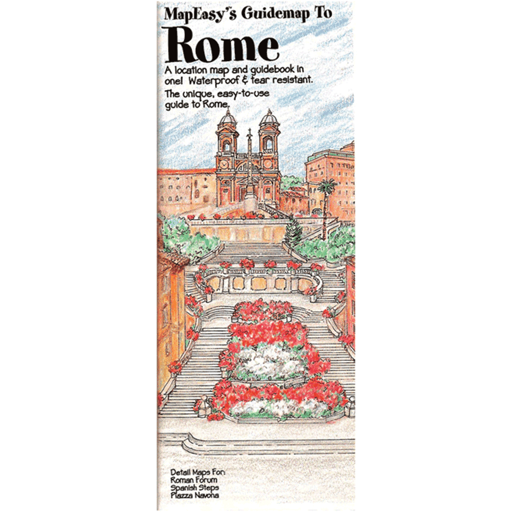 MapEasy's Guidemap: Rome