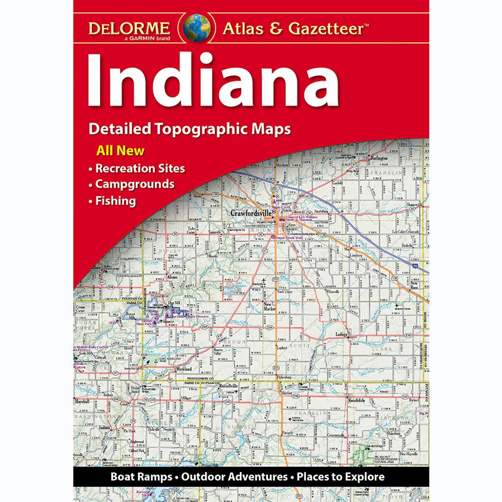 DeLorme Atlas & Gazetteer: Indiana