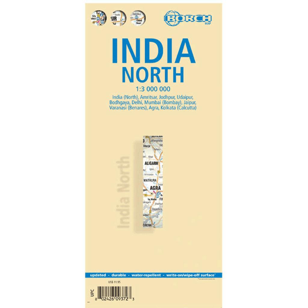 Borch Map: India North