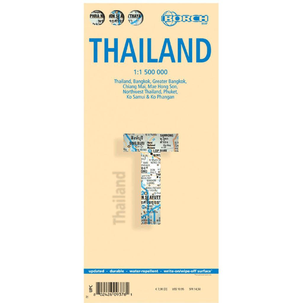 Borch Map: Thailand