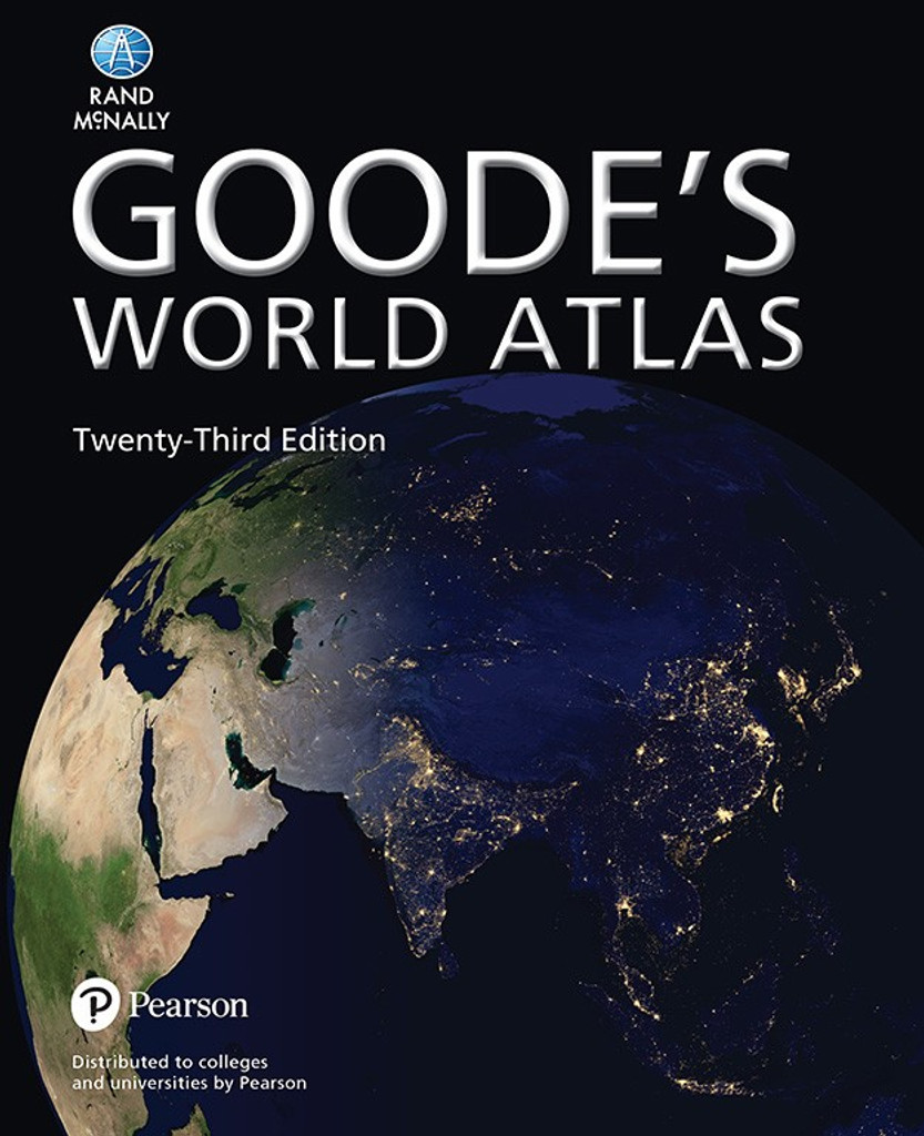 Goode's World Atlas 23rd Edition (Paperback) | Grades 9-12+
