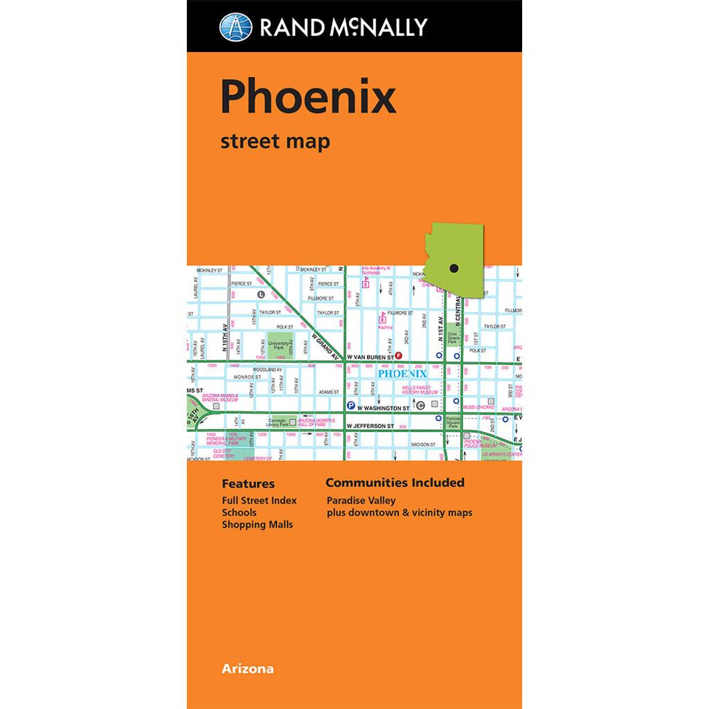 Folded Map: Phoenix Street Map