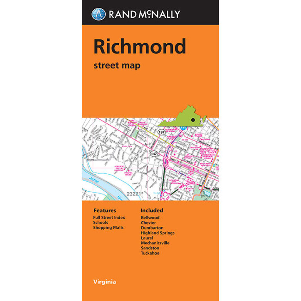 Folded Map: Richmond Street Map