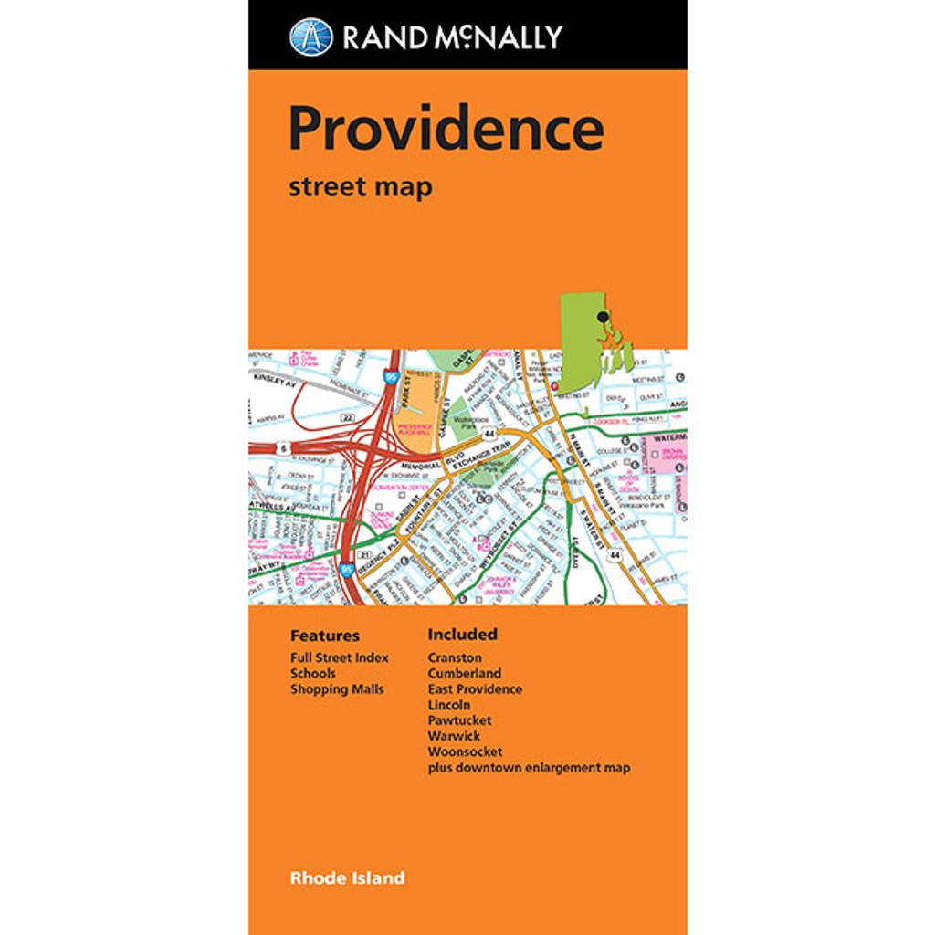 Folded Map: Providence Street Map
