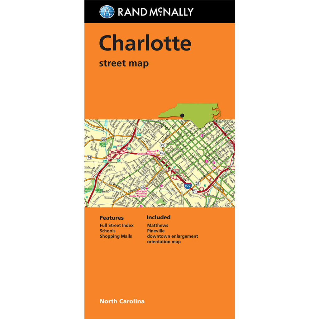 Folded Map: Charlotte Street Map
