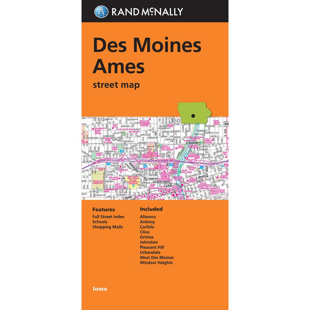 Folded Maps: Des Moines