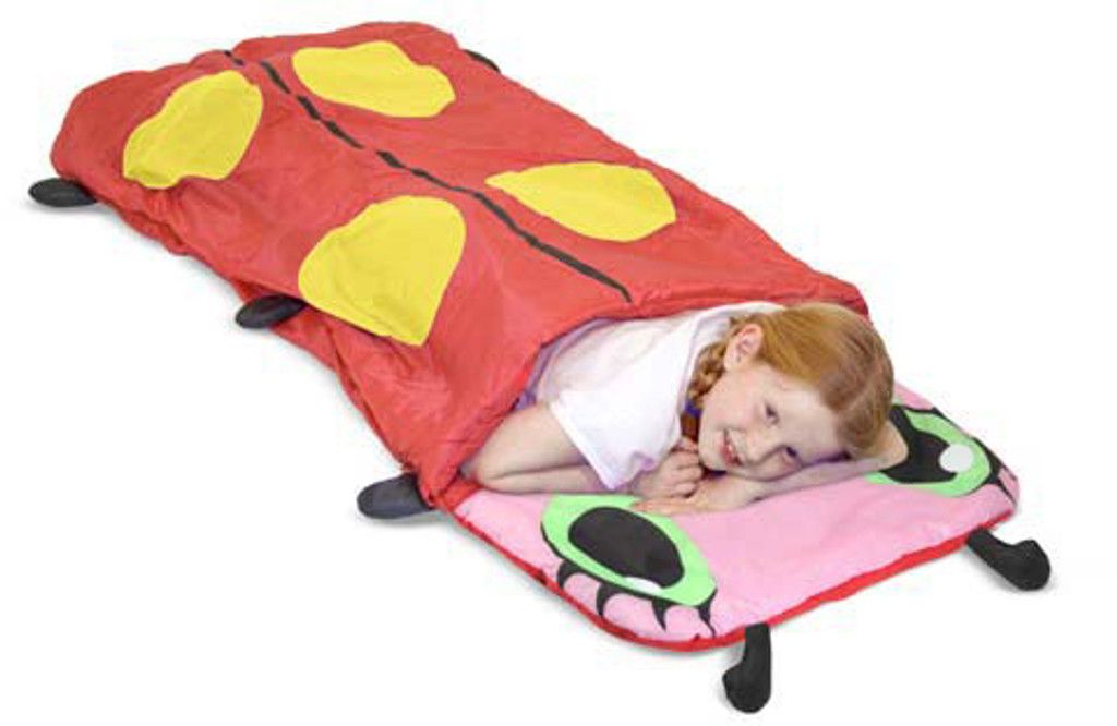Mollie Ladybug Child's Sleeping Bag