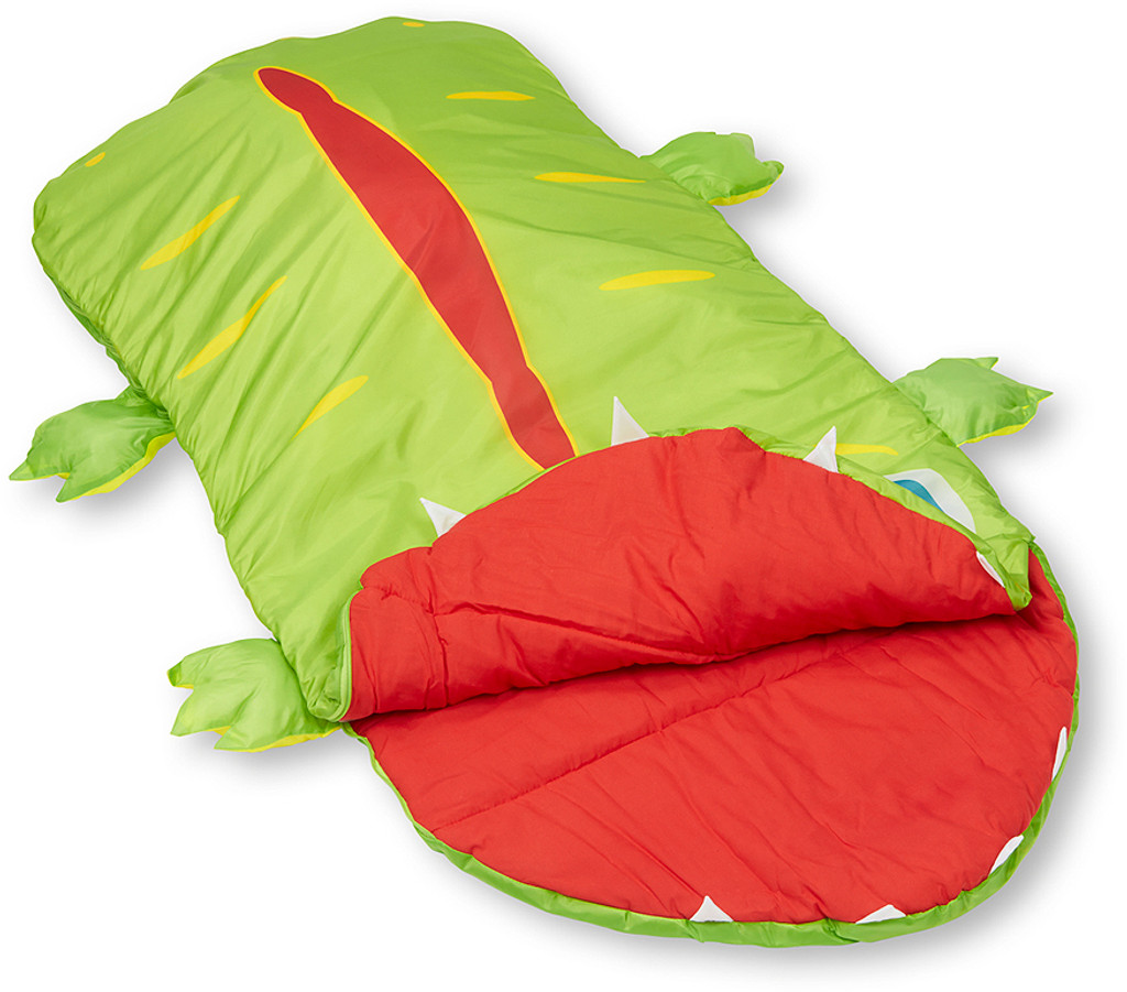 Augie Alligator Child's Sleeping Bag