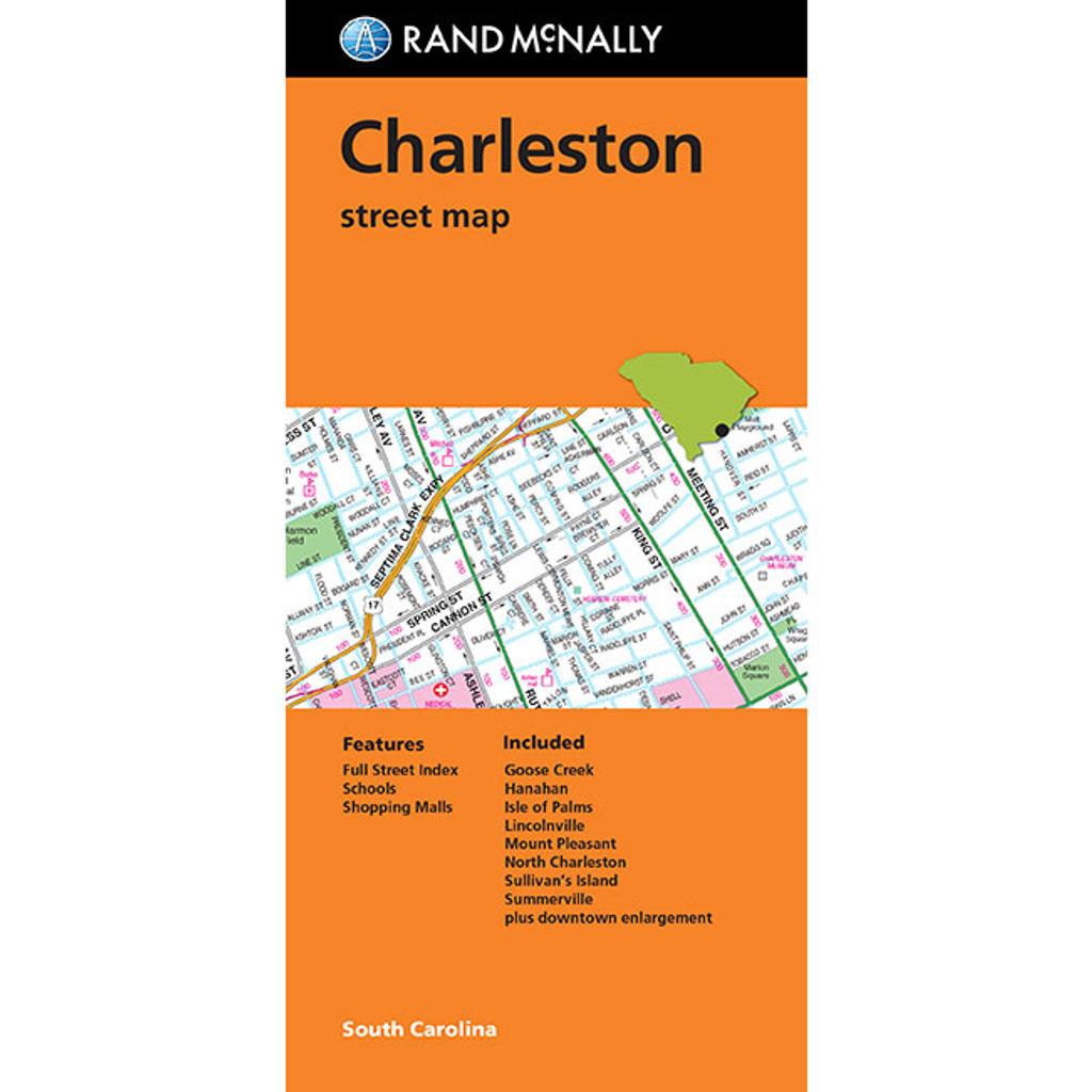 Folded Map: Charleston Street Map