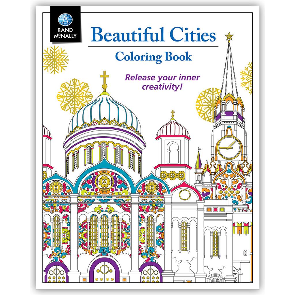Beautiful Cities Coloring Book