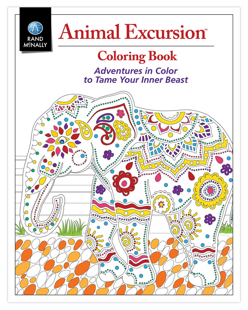 Animal Excursion Coloring Book