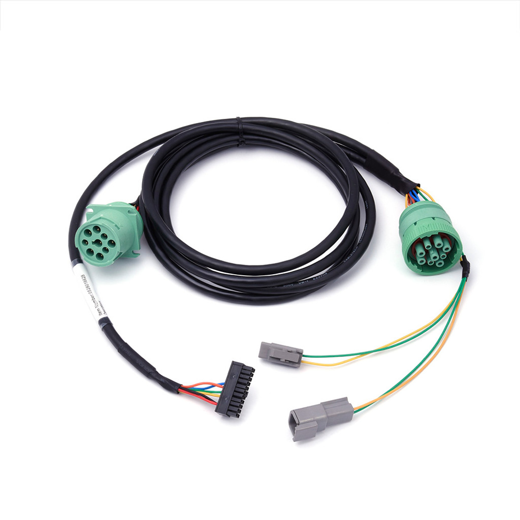 Freightliner Type 2 Green 9-Pin Y-Cable for HD 100