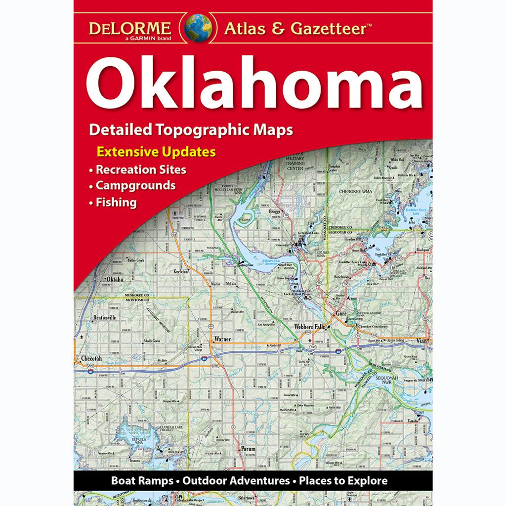 DeLorme Atlas & Gazetteer: Oklahoma