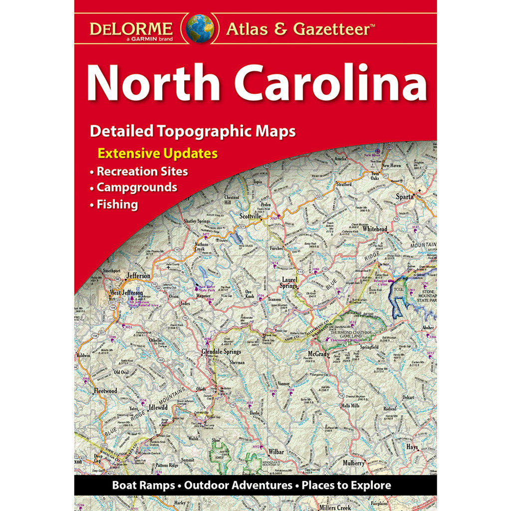 DeLorme Atlas & Gazetteer: North Carolina