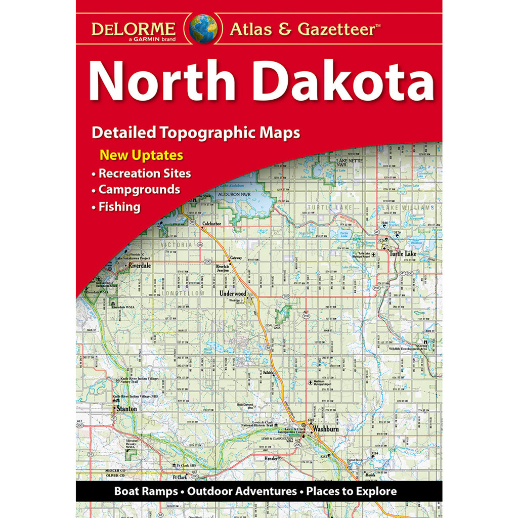DeLorme Atlas & Gazetteer: North Dakota