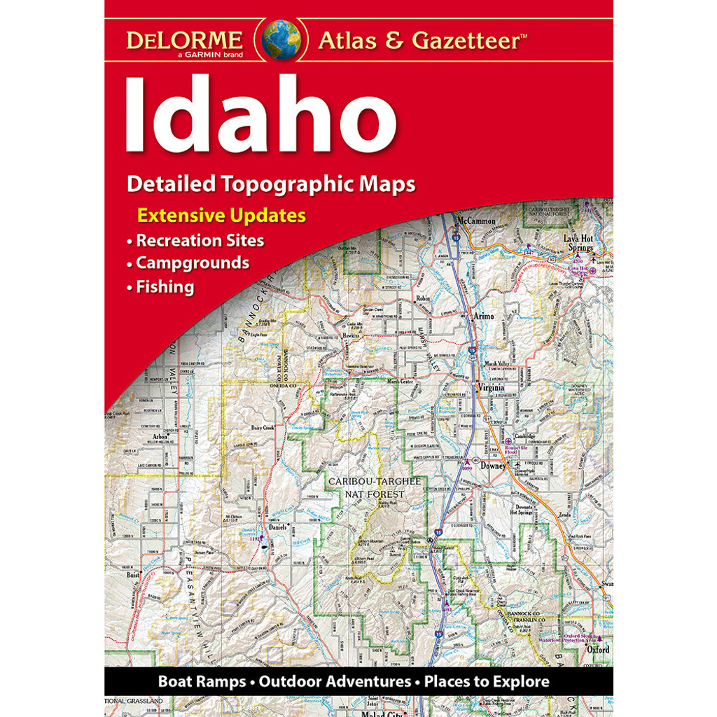DeLorme Atlas & Gazetteer: Idaho